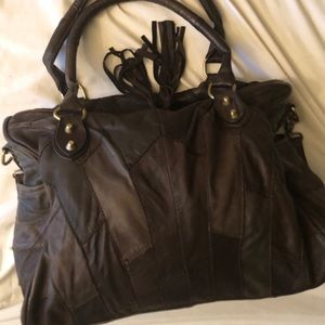 De.De. Leather Handbag